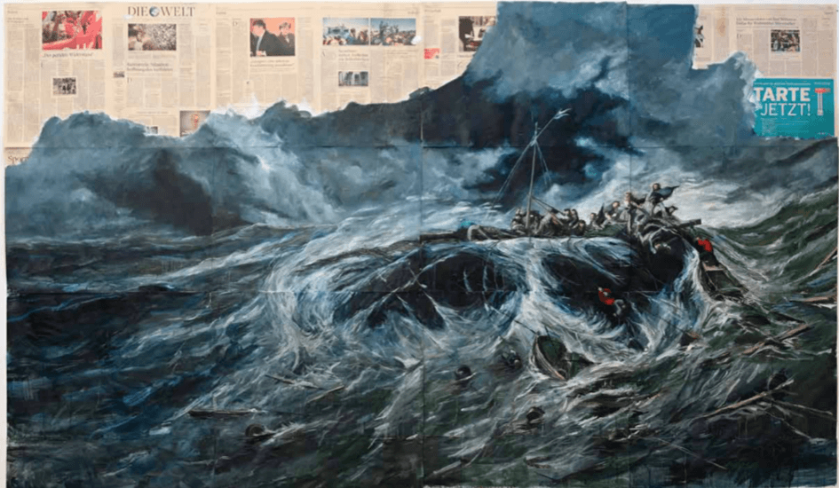 Carré sur Seine, Visite Le Regard du Temps, Diego Movilla, Naufrages